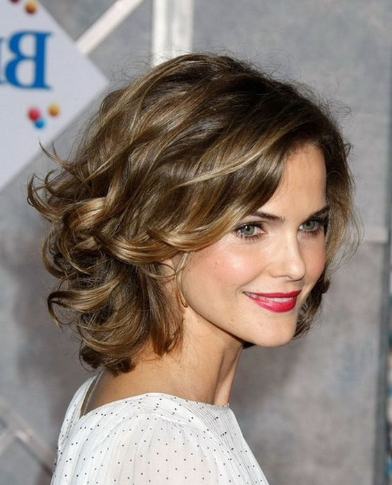 Fabulous Thick Curly Hair Short Hairstyles And Hairstyles On Pinterest Short Hairstyles Gunalazisus