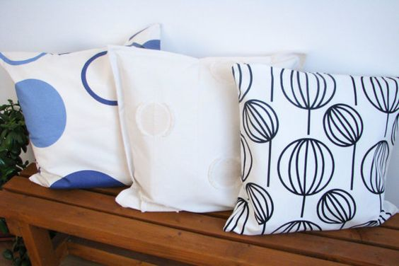 20 Decorative Cotton Pillow Covers / Pillows / by LinenThread, $34.00