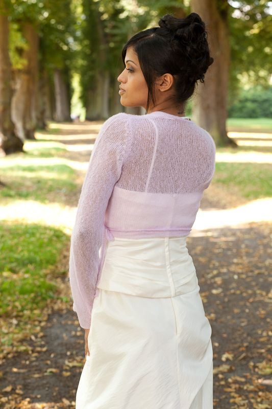 Wedding Bolero With Hood Kim Knitted For Your Wedding Day Brautjacke Braut Farbige Hochzeitskleider