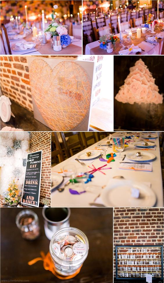 Reportage mariage emilie florent ambiance champ tre for Mariage champetre decoration