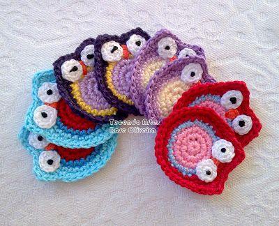 Tecendo Artes em Crochet: Encomenda de Fofuras para o Rio de Janeiro!