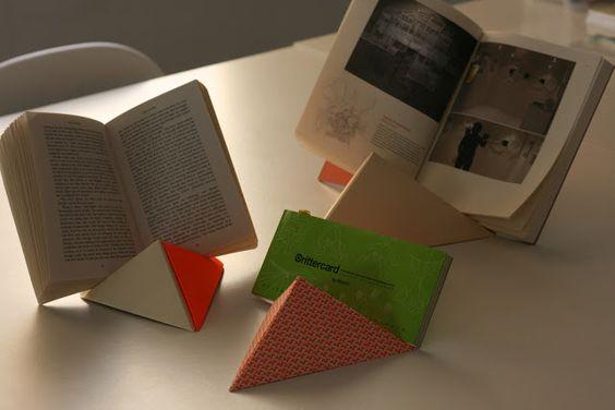 theOPENstudio 79: Tutoriales/Tutorial origami book stand