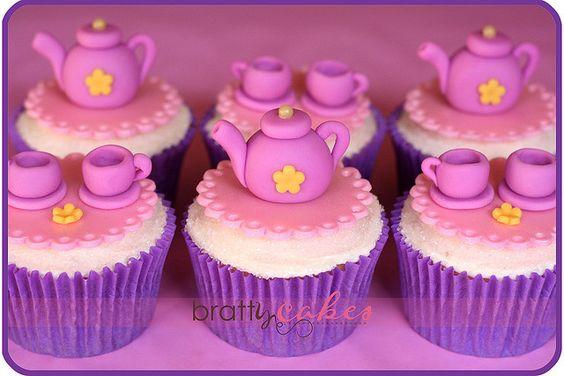 by Natty-Cakes (Natalie)  princess tea party cupcakes  flickr