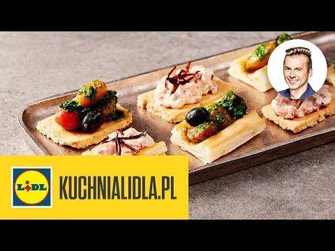 Przekaski Na Sylwestra Karol Okrasa Kuchnia Lidla Youtube Food Breakfast Appetizers
