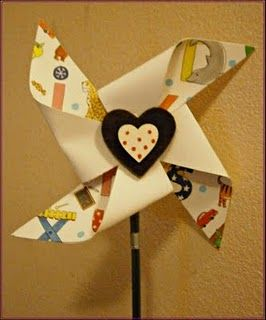 Pinwheel for the boys to wear?