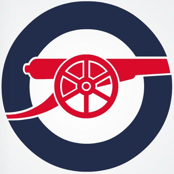 arsenal logos and arsenal fc on pinterest
