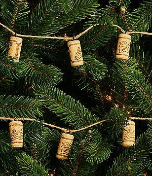Trimsetter Cheers Collection Wine Cork Jute Garland