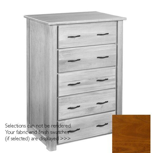 Woods End 5 Drawer Bureau This End Up Furniture Drawers Wood
