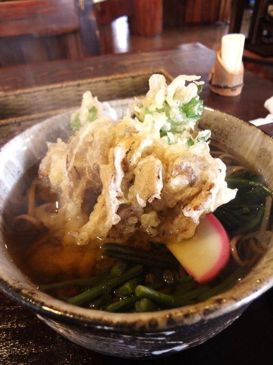 Maitake-ten Soba