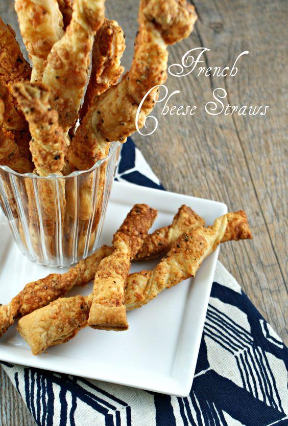 French Cheese Straws + Peju Wines