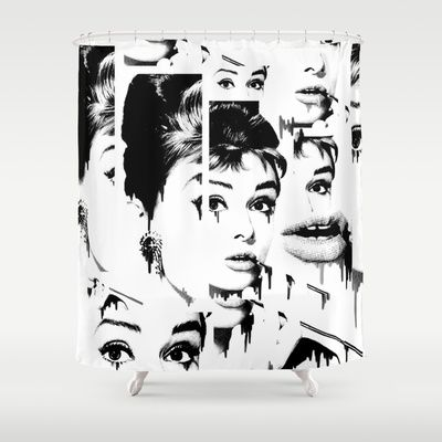 Crushed Shower Curtain by Kristy Patterson Design - $68.00