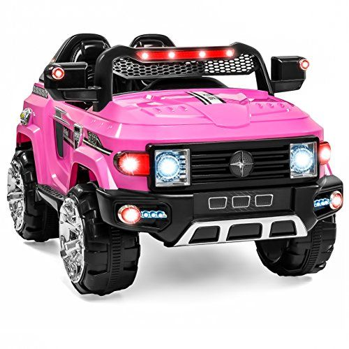 Best Choice Products 12v Mp3 Kids Ride On Truck Car R C Remote Control Led Lights Aux And Music Pink Parental Guidance Getting The Best Educational Games A Kids Ride