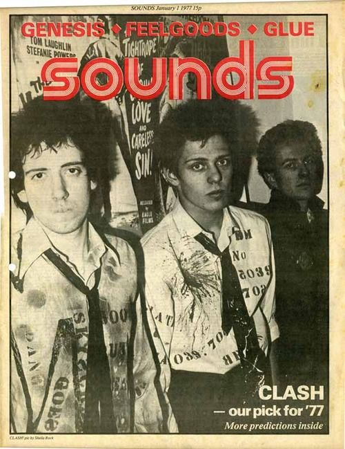 The Clash...Sounds...1977.....