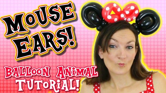 Make your own Mouse Ears - Easy Balloon Animal Tutorial with Holly the T...
