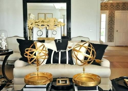 Awesome Black And Gold Home Decor 39 About Remodel Small Home