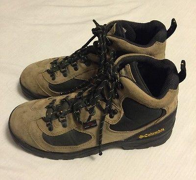 Mens Columbia Sportswear Co Omni Tech Copper River Hiking Boots Size 10.5 Brown