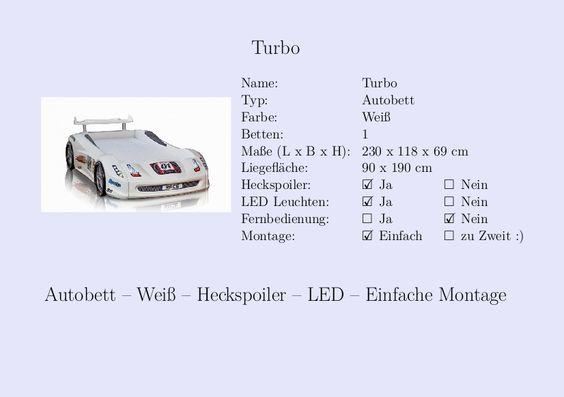 Kinderbett auto grün  Kinderbett #Jungs #Auto #Polizei #Weiß | Steckbrief Autobett ...