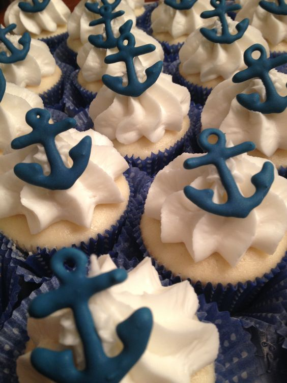 Anchor Cupcakes -picture only
