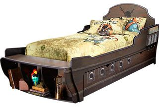 Disney Pirates Twin Bed - eclectic - kids beds - by Rooms to Go