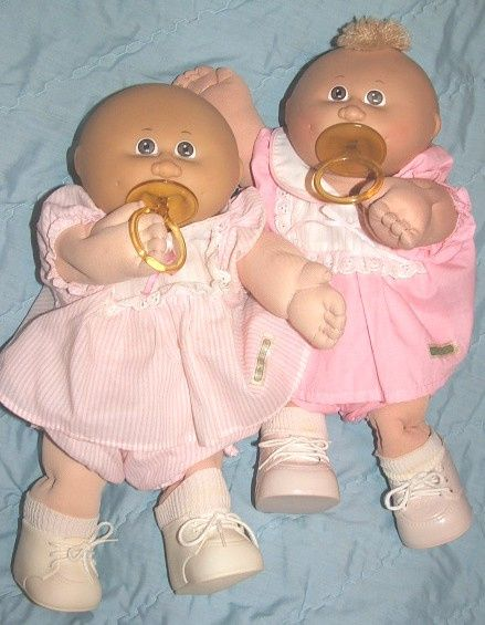 I had the preemie and the baby cabbage patch kids. Loved their bald heads and soothers.