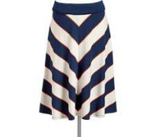 Skirts do much more than add style to your summer wardrobe. They keep you feeling cool and fresh when temperatures rise. Fortunately, our favorite seasonal skirts featured here, including this striped number ($26.94 at oldnavy.gap.com), are extremely affordable!