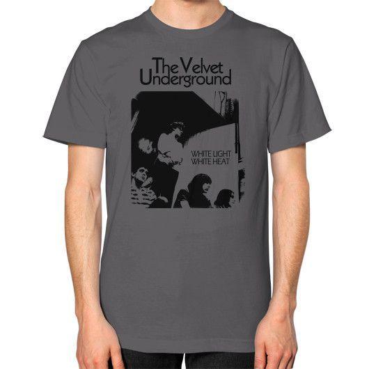 THE velvet Unisex T-Shirt (on man)