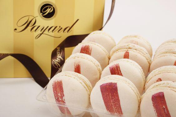 Goji Berries Macarons by Payard