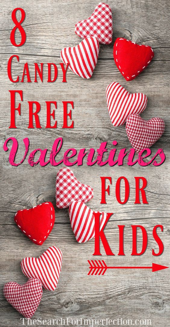 Sweet Candy-Free Valentines for Kids | Crafts, Sweet and Valentine ...