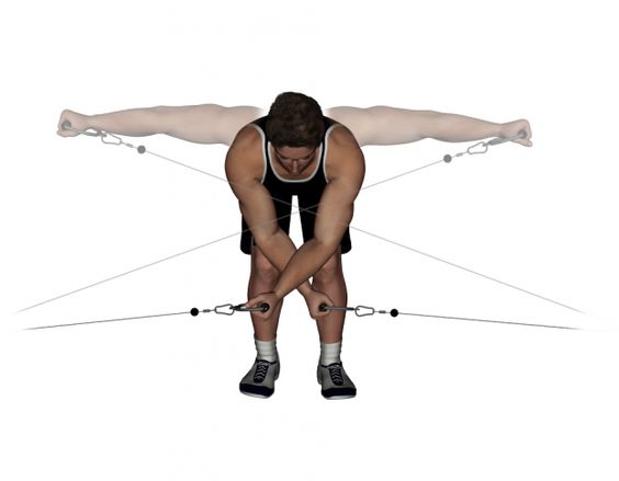 cable rear lateral raises client i n s p i r a t i o n