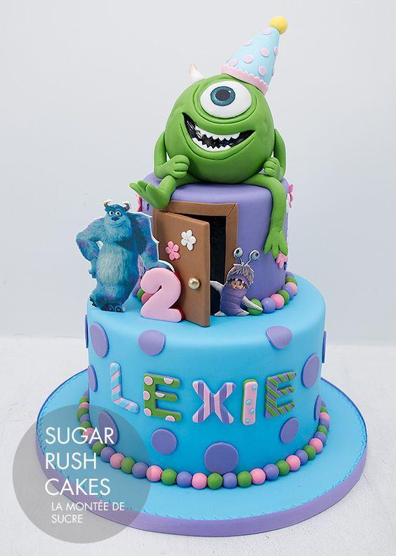 Gâteau Monsters University