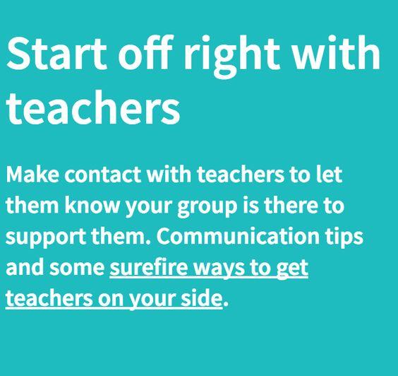 Teachers are great partners!  #PTObootcamp