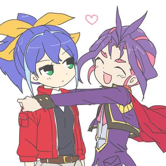 Serena and Yuri