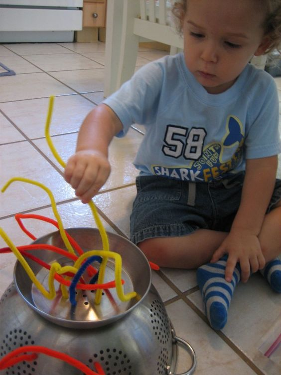 A Strainer and Some Pipe Cleaners