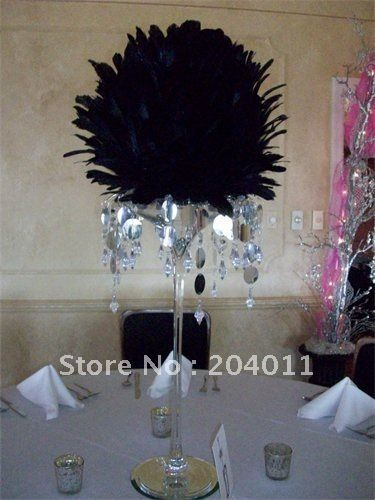 Free shipping quot white feather ball for wedding