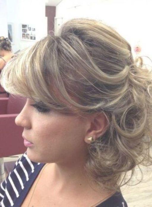 21 Peinados pelo corto mujer fiesta