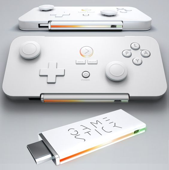 PlayJam GameStick is a gaming console so small, it fits in its own controller