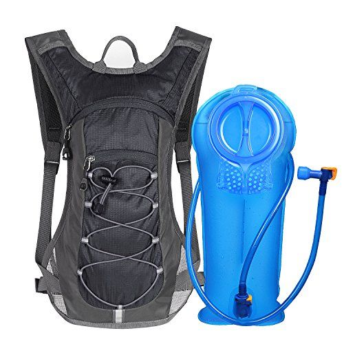 Cycling Camping Hiking Running Hydration Pack Bag with with 2L Water Bladder
