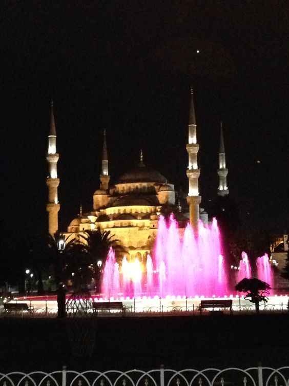 Turkey, the blue mosque
