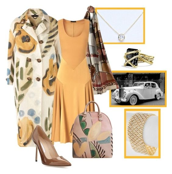 Snapshots: Burberry by shoppe23 on Polyvore featuring polyvore fashion style Burberry Manolo Blahnik David Yurman Columbia clothing