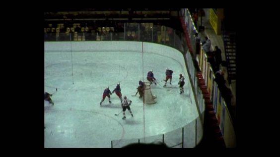Winterolympia 1976 Innsbruck: Bronzemedaille Eishockey - Deutschland. Spiel Deutschland-USA