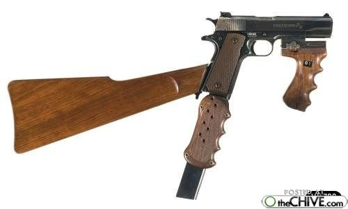 Image detail for -guns weapons weird 7 Worlds most unconventional guns (27 photos)