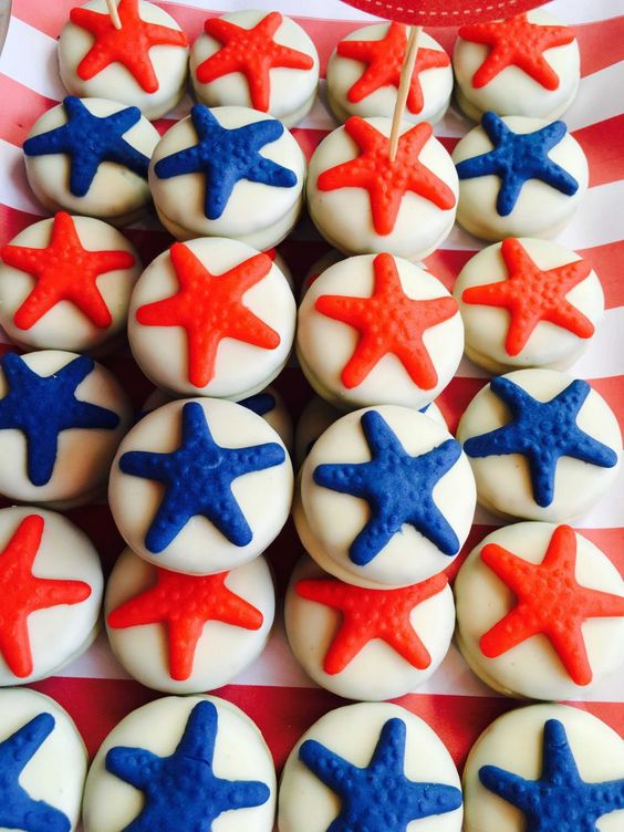 galletas con forma de estrella mesa dulce naituca moda infantil