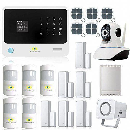 Digoo Dg Hosa 433mhz Wireless Gsm Wifi Diy Smart Home Security Alarm Systems Kits Wireless Home Security Systems Home Security Alarm Home Security Alarm System