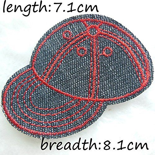 FairyTeller Casquette Patch Hot Melt Adhesive Clothing Patch 50Pcs Applique Embroidery Blossom Diy Accessories C202 ** Read more reviews of the item by visiting the link on the image.