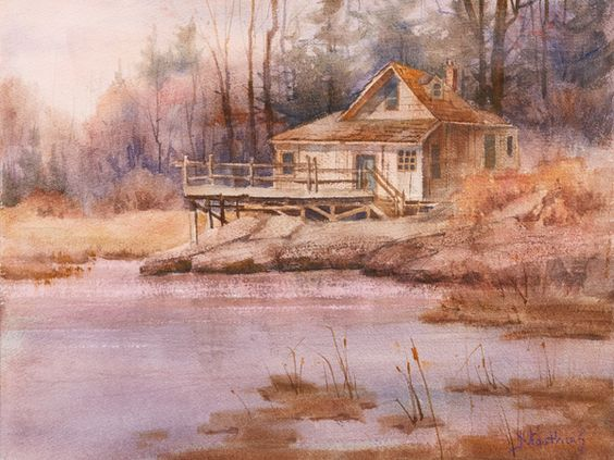 Pinterest the world s catalog of ideas for Landscape paintings for beginners