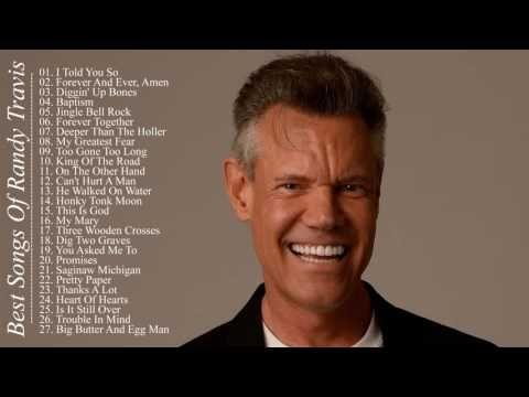 Randy Travis Greatest Hits || Best Songs Of Randy Travis - YouTube