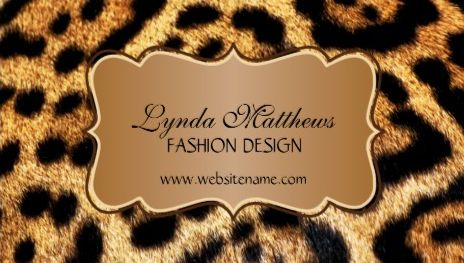 Exotic Tawny Brown Faux Leopard Fur Fashion Design Business Cards http://www.zazzle.com/elegant_faux_leopard_fur_business_cards-240226969588147948?design.areas=%5Bbusiness_front_horz%2Cbusiness_back_horz%5D&rf=238835258815790439&tc=GBCSewing1Pin