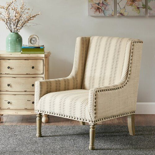 Bungalow Rose Lambdin Wingback Chair Wayfair Accent Chairs