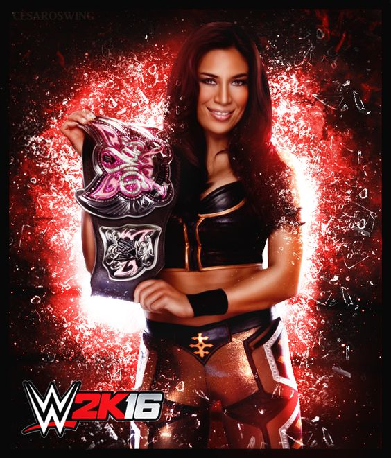 Former WWE Superstar Melina 2k16 Custom Render by cesaroswing.deviantart.com on @DeviantArt