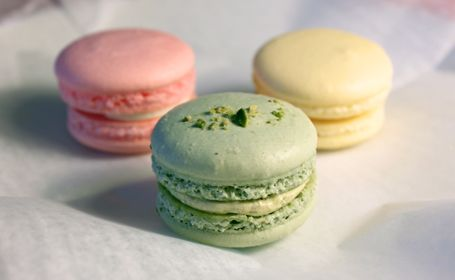 Three Tarts macarons